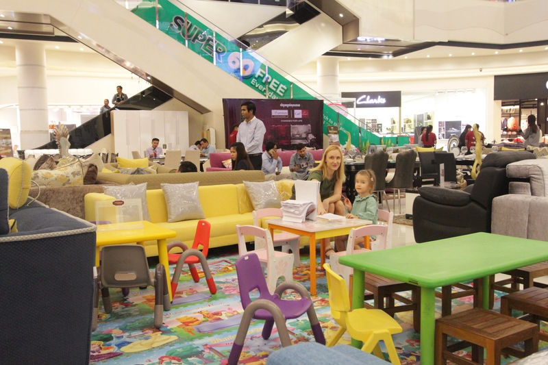 Carl Furniture Show at Aeon Mall 2017